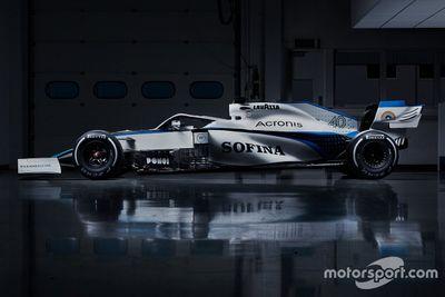 威廉姆斯赛车新涂装