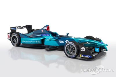 NIO Formula E team car unveil