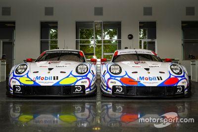 Porsche Team renk düzeni tanıtımı
