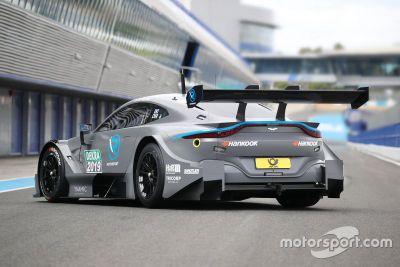 R-Motorsport Aston Martin Jerez testing