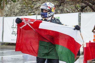 Red Bull gösteri sürüşü: Oman