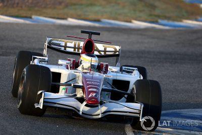 Jerez, januári teszt