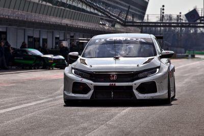 WTCR Honda March testing