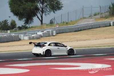 Test Honda a Barcellona