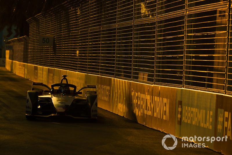 Formel-E-Test in Riad