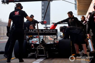 Haas VF-20 Filming Day