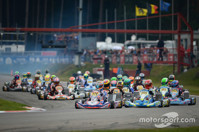 Troisième manche du championnat d'Europe CIK-FIA KZ
