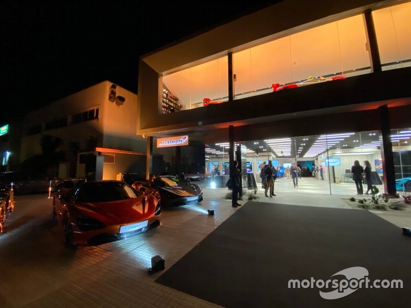 Presentazione McLaren a Barcelona