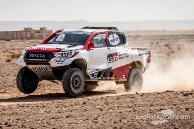 Testes de Alonso com Toyota em Erfoud