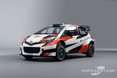 丰田WRC 涂装