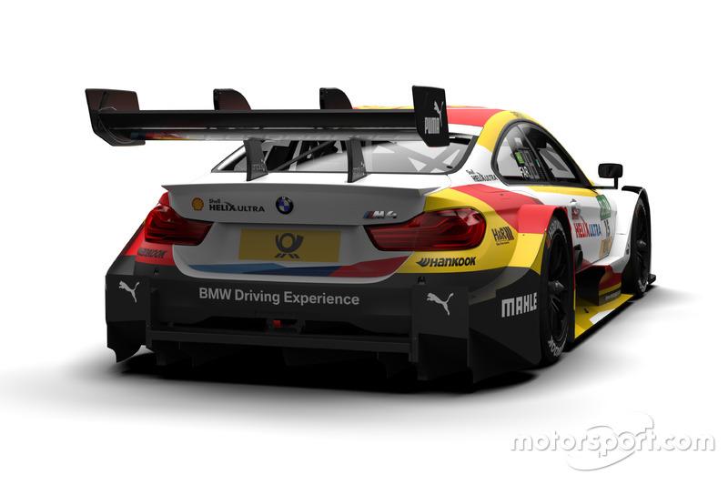 Pintura da BMW Motorsport para o DTM em 2018