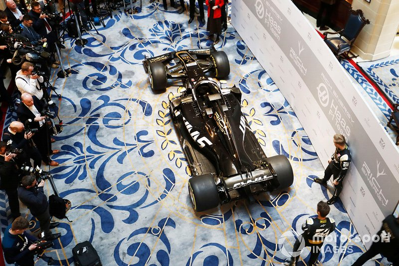 Haas Livery Launch