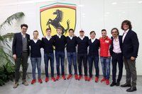 Anuncio de jóvenes pilotos Ferrari
