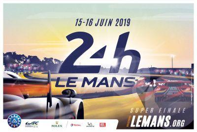 Le Mans 24 Saat poster