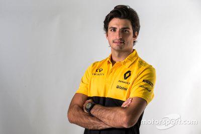 Annuncio Carlos Sainz Jr. Renault