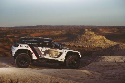 Pruebas Peugeot en Marruecos