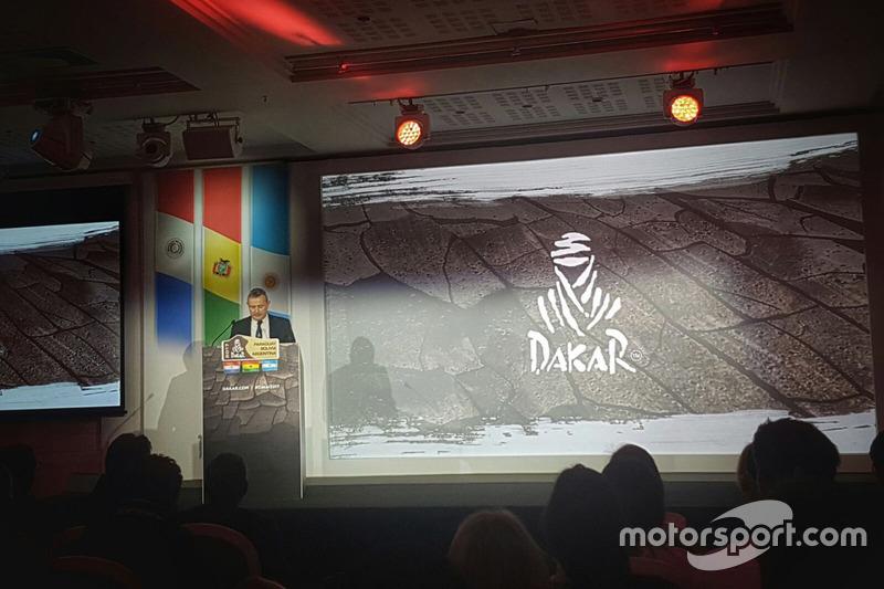 Presentación Dakar 2017