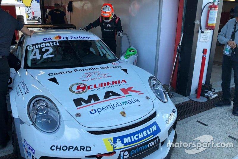 Guidetti al Carrera Cup con Duell Race