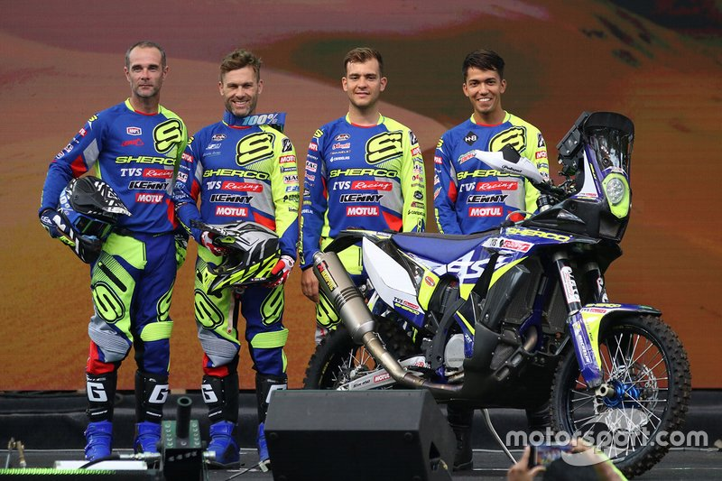 Sherco TVS riders announcement