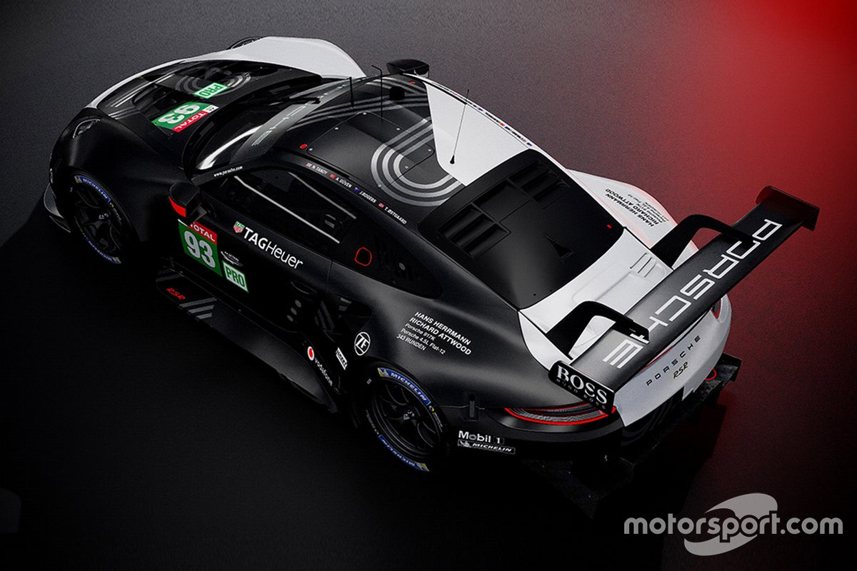 Decoración Porsche Le Mans Virtual