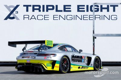 Triple Eight Mercedes Bathurst unveil