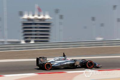 Testfahrten in Bahrain, Februar