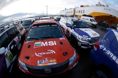 Voyage des équipes vers Lima