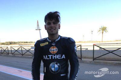 Althea BMW Racing Team, annuncio Alessandro Delbianco