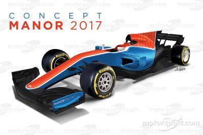 Manor F1 2017 concepto