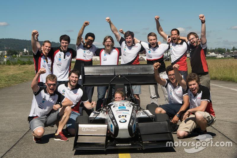 Record d'accélération AMZ Racing