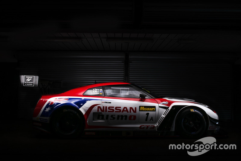Nissan Motorsport livery launch