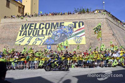 Valentino Rossi in Tavullia