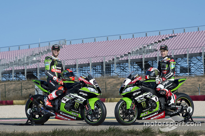 Kawasaki Racing Team presentation