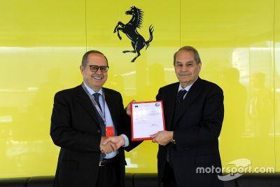 Certificado AEO de Ferrari