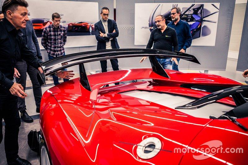 Ferrari P80/C unveil