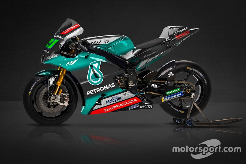 Petronas Yamaha bemutató