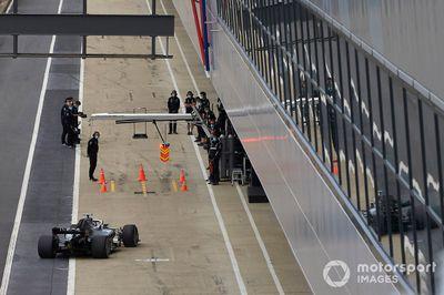 Test de Mercedes F1 en junio