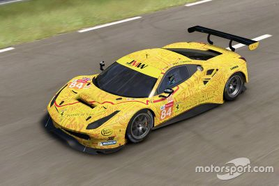 JMW Motorsport livery unveil