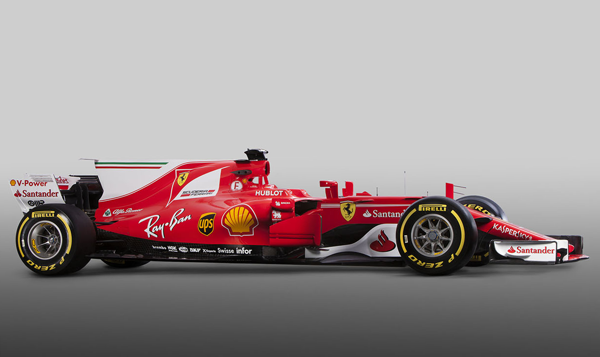 Check Out The Differences Between Halo Equipped 2018 Ferrari Sf71h And Previous Year S Full Shark Finned Contender Move Slider Tool Below On