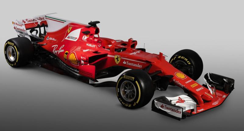 Vergleich Ferrari Sf70h Vs Ferrari Sf71h Für Die Formel 1 2018
