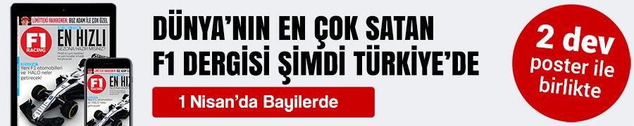 F1 Racing Turkiye 1 Nisan