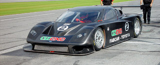 Grand-Am Daytona Prototypes - first Daytona laps completed