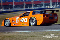 Brumos Fabcar on top on Daytona day 2