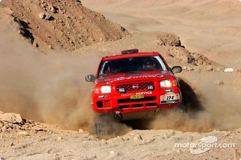Dakar: Nissan stage 15 report