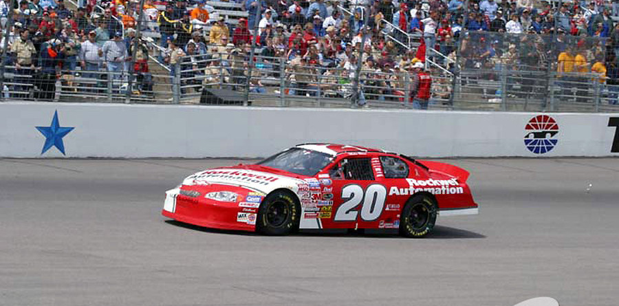 BUSCH: Second red flag at Texas