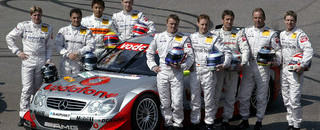 DTM F?ssler and Alesi team up