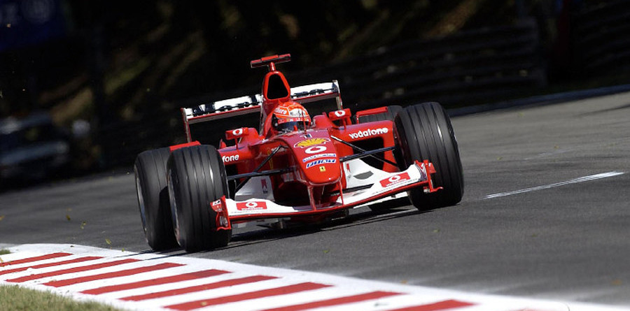 Schumacher wins fight for Italian GP pole