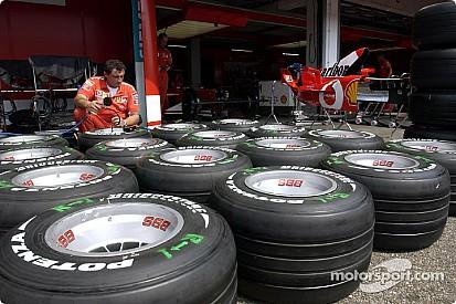 The Bridgestone and Ferrari partnership