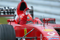 Schumacher claims sixth title at Japanese GP
