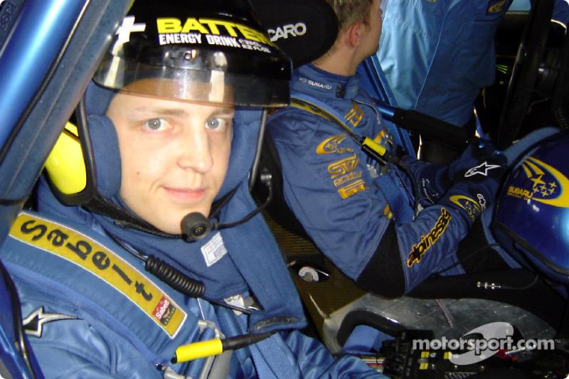 Mikko Hirvonen/Subaru test notes 2003-12-22